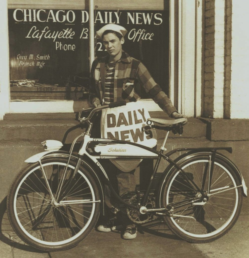 Typical Paperboy...not me... but yes I did deliver the Chicago Daily News